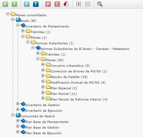 Digital Registry of Planning