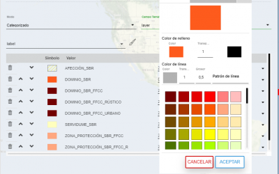 Publicar planeamiento vectorial CAD en urbiThings